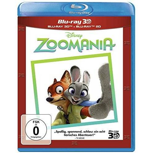Byron Howard - Zoomania 3D+2D Superset [3D Blu-ray] - Preis vom 06.09.2020 04:54:28 h