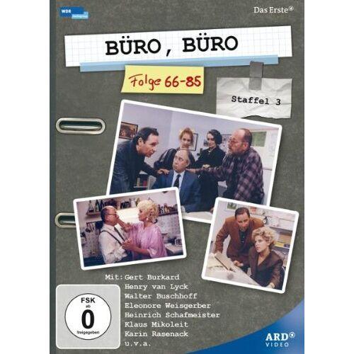 Ulrich König - Büro, Büro - Staffel 3, Folge 66-85 [3 DVDs] - Preis vom 12.02.2020 05:58:47 h