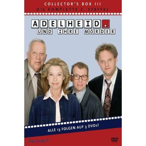 Stefan Bartmann - Adelheid und ihre Mörder - Adelheid Box 3: Die komplette 3. Staffel [3 DVDs] - Preis vom 06.05.2021 04:54:26 h