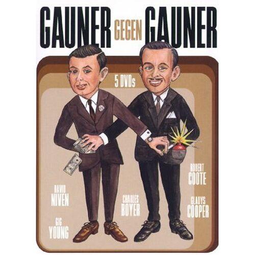 Hy Averback - Gauner gegen Gauner [5 DVDs] - Preis vom 18.04.2021 04:52:10 h