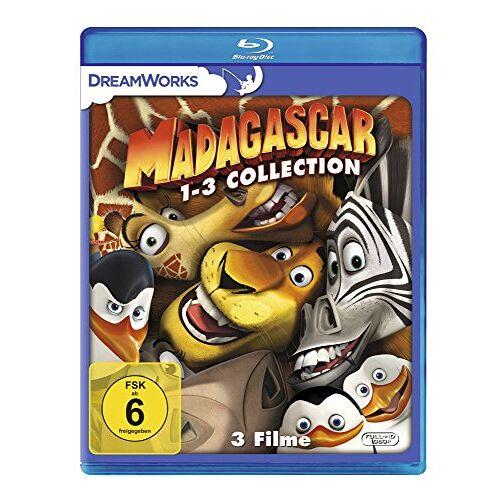 - Madagascar / Madagascar 2 / Madagascar 3: Flucht durch Europa [Blu-ray] - Preis vom 03.08.2020 04:53:25 h