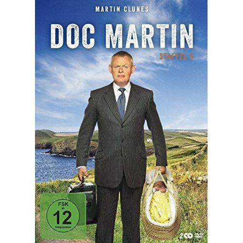 Martin Clunes - Doc Martin - Staffel 5 [2 DVDs] - Preis vom 28.02.2021 06:03:40 h
