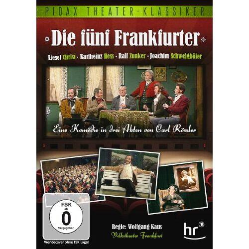 Wolfgang Kaus - Die fünf Frankfurter (Pidax Theater-Klassiker) - Preis vom 17.01.2021 06:05:38 h