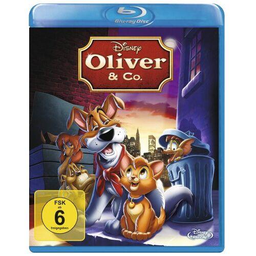 George Scribner - Oliver & Co. [Blu-ray] - Preis vom 20.10.2020 04:55:35 h