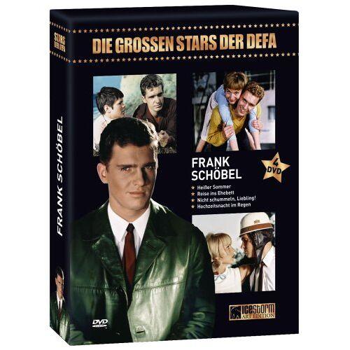 Joachim Hasler - Frank Schöbel - Die grossen Stars der DEFA [4 DVDs] - Preis vom 24.10.2020 04:52:40 h