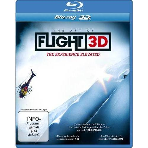 Curt Morgan - The Art of Flight 3D (Special Edition mit Lenticular Card) [3D Blu-ray] - Preis vom 18.04.2021 04:52:10 h