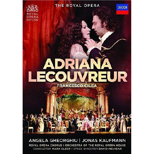 Angela Gheorghiu - Cilea, Francesco - Adriana Lecouvreur [2 DVDs] - Preis vom 20.10.2020 04:55:35 h