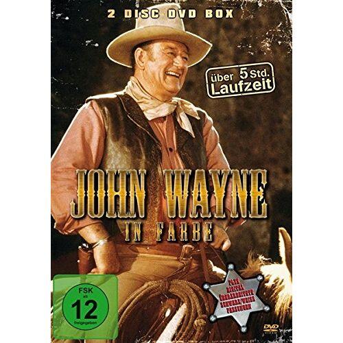 John Wayne - John Wayne in Farbe [2 DVDs] - Preis vom 20.10.2020 04:55:35 h