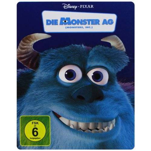 Peter Docter - Die Monster AG - Steelbook [Blu-ray] [Limited Edition] - Preis vom 01.12.2020 06:01:16 h