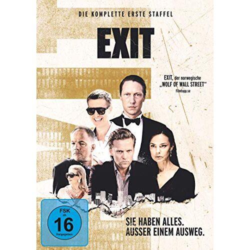Berger, Simon J. - Exit - Die komplette erste Staffel [2 DVDs] - Preis vom 12.05.2021 04:50:50 h