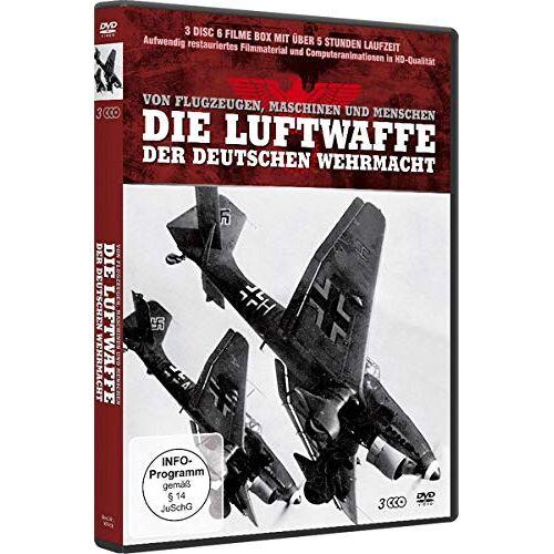 - Die Luftwaffe der Deutschen Wehrmacht [3 DVDs] - Preis vom 05.05.2021 04:54:13 h