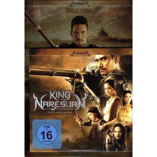 Chatrichalerm Yukol - King Naresuan - Der Herrscher von Siam (Starmetalpak) [Limited Special Edition] [2 DVDs] - Preis vom 26.02.2021 06:01:53 h