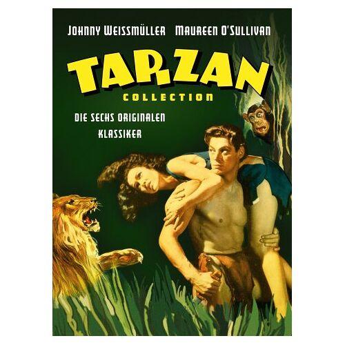 Johnny Weissmuller - Tarzan Collection (3 DVDs) - Preis vom 06.09.2020 04:54:28 h
