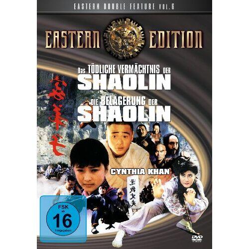 Zhang Siu Wai - Eastern Double Feature Vol. 6: Das tödliche Vermächtnis der Shaolin / Die Belagerung der Shaolin - Preis vom 05.09.2020 04:49:05 h