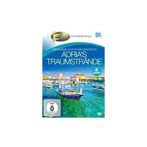 BR-Fernweh - Adria's Traumstrände [4 DVDs] - Preis vom 07.05.2021 04:52:30 h