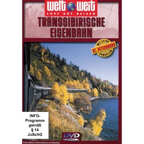 N.N. - Transsibirische Eisenbahn (Reihe: welt weit) mit Bonusfilm St. Petersburg (1 DVD, Länge: ca. 78 Min.) - Preis vom 19.01.2021 06:03:31 h