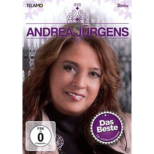 Andrea Jürgens - Das Beste - Die Jubiläumsausgabe [3 DVDs] - Preis vom 05.04.2020 05:00:47 h