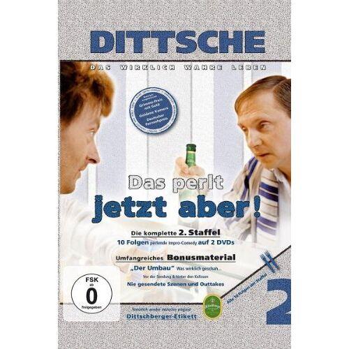 Olli Dittrich - Dittsche/Das perlt jetzt aber! - 2. Staffel [2 DVDs] - Preis vom 16.01.2021 06:04:45 h