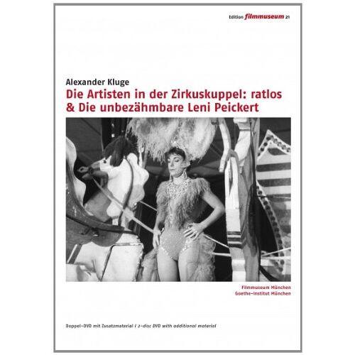 Prof. Dr. Alexander Kluge - Die Artisten in der Zirkuskuppel: ratlos / Die unbezähmbare Leni Peickert [2 DVDs] - Preis vom 16.04.2021 04:54:32 h
