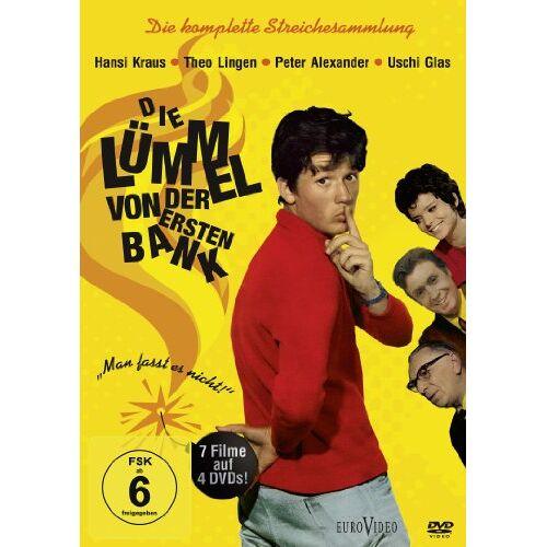 Werner Jacobs - Die Lümmel von der ersten Bank 4DVD Box - Preis vom 05.09.2020 04:49:05 h