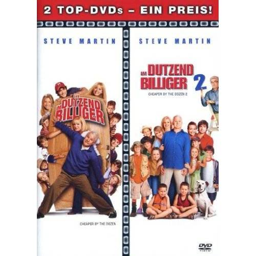 Shawn Levy - Im Dutzend billiger / Im Dutzend billiger 2 [2 DVDs] - Preis vom 21.01.2021 06:07:38 h