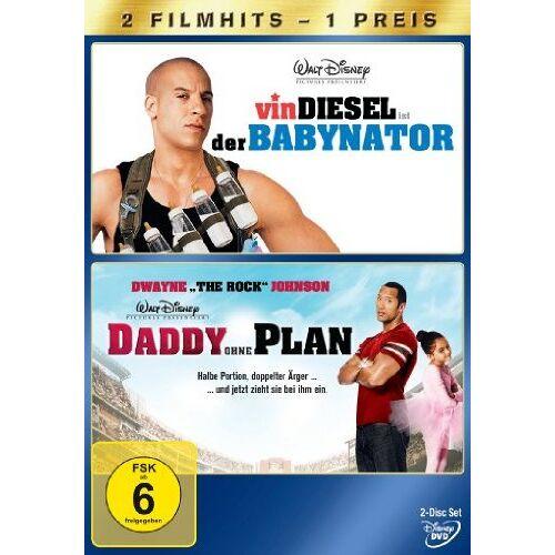 Andy Fickman - Daddy ohne Plan / Der Babynator [2 DVDs] - Preis vom 19.10.2020 04:51:53 h