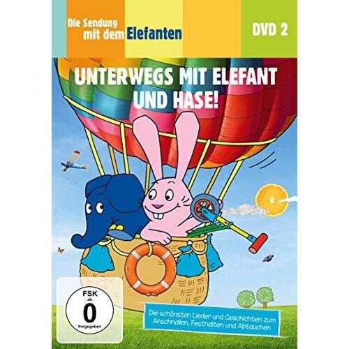 Jean Pilotte - Die Sendung mit dem Elefanten, DVD 2 - Unterwegs mit Elefant und Hase! - Preis vom 28.02.2021 06:03:40 h