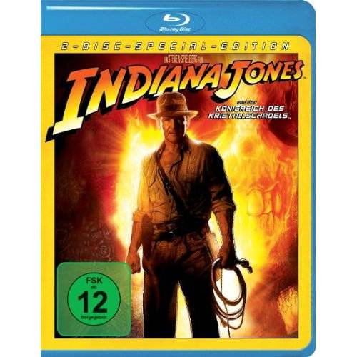 Steven Spielberg - Indiana Jones und das Königreich des Kristallschädels (2 Discs) [Blu-ray] - Preis vom 27.10.2020 05:58:10 h