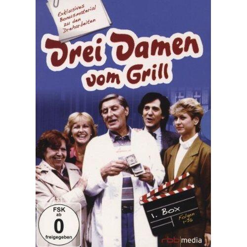 Thomas Engel - Drei Damen vom Grill - Box 1/Folge 1-26 [6 DVDs] - Preis vom 01.03.2021 06:00:22 h