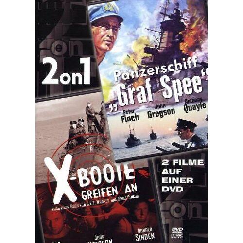 - Panzerschiff Graf Spee/X-Boote greifen... [2 DVDs] - Preis vom 06.05.2021 04:54:26 h