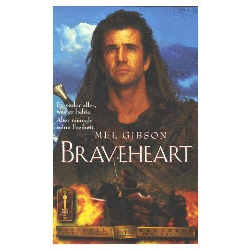 Gibson Braveheart [VHS] - Preis vom 28.02.2021 06:03:40 h