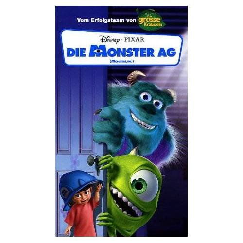 Peter Docter - Die Monster AG [VHS] - Preis vom 12.05.2021 04:50:50 h