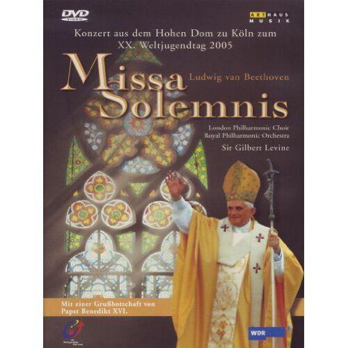 János Darvas - Beethoven, Ludwig van - Missa Solemnis: Konzert zum XX. Weltjugendtag (NTSC) - Preis vom 11.05.2021 04:49:30 h