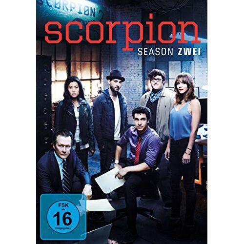Elyes Gabel - Scorpion - Season zwei [6 DVDs] - Preis vom 18.04.2021 04:52:10 h