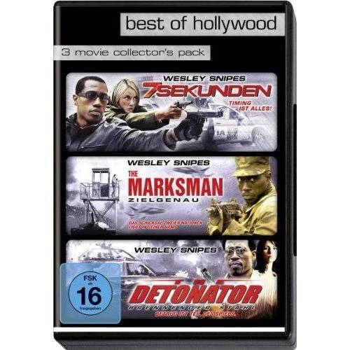 Wesley Snipes - Best of Hollywood - 3 Movie Collector's Pack: 7 Sekunden / The Marksman / The Detonator (3 DVDs) - Preis vom 18.04.2021 04:52:10 h