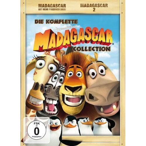 Liefers, Jan Josef - Madagascar / Madagascar 2 (4 DVDs) - Preis vom 03.08.2020 04:53:25 h