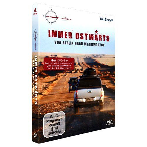Various - Immer Ostwärts - Von Berlin nach Wladiwostok [4 DVDs] - Preis vom 08.05.2021 04:52:27 h