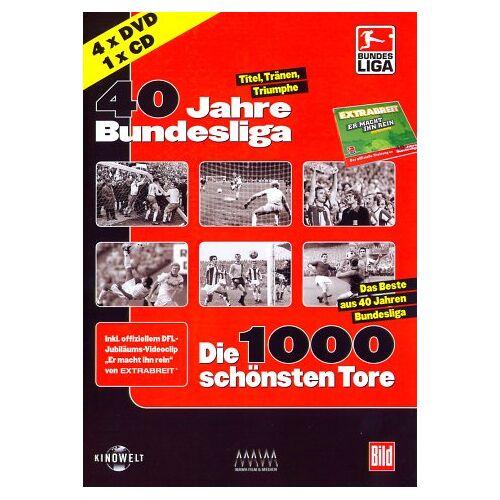 - 40 Jahre Bundesliga Package [4 DVDs] - Preis vom 08.05.2021 04:52:27 h