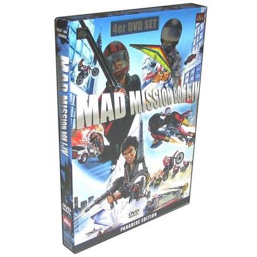 Eric Tsang - Mad Mission Teil 1 bis 4 Box Steelcase [4 DVDs] - Preis vom 16.04.2021 04:54:32 h
