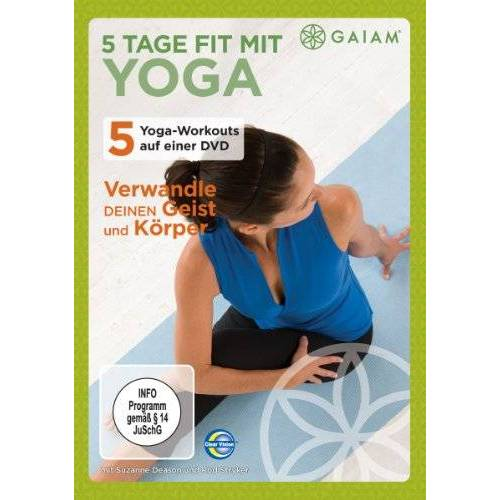 Rod Stryker - Gaiam-5 Tage fit mit Yoga - Preis vom 20.04.2021 04:49:58 h