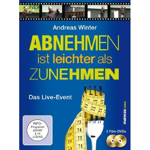 - Abnehmen ist leichter als Zunehmen. Das Live-Event, 2 DVDs - Preis vom 07.05.2021 04:52:30 h