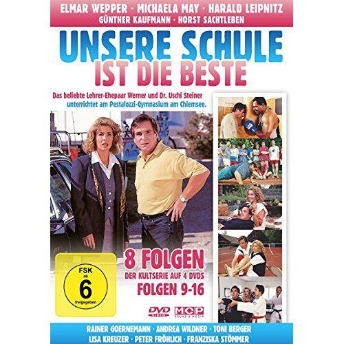 Harald Leipnitz - Unsere Schule ist die Beste - Folgen 9 - 16 (8 Folgen auf 4 DVDs) - Preis vom 05.05.2021 04:54:13 h