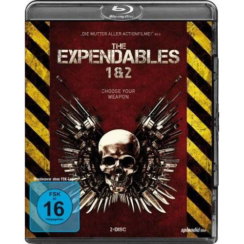 - The Expendables 1+2 [Blu-ray] - Preis vom 09.05.2021 04:52:39 h