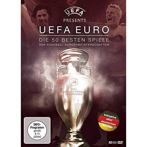 - UEFA EURO - Die 50 besten Spiele der Fußball-Europameisterschaften (10 DVD Box) - Preis vom 09.04.2021 04:50:04 h