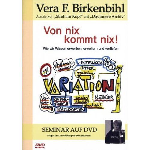 Birkenbihl, Vera F. - Von Nix kommt nix! - Vera F. Birkenbihl - Preis vom 13.05.2021 04:51:36 h