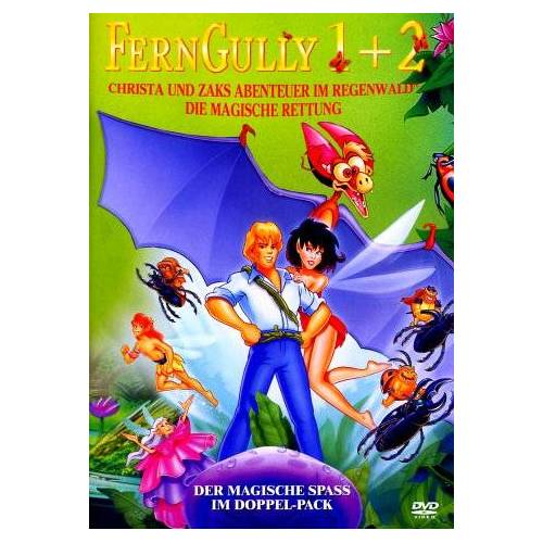 Bill Kroyer - FernGully 1 & 2 [2 DVDs] - Preis vom 04.09.2020 04:54:27 h