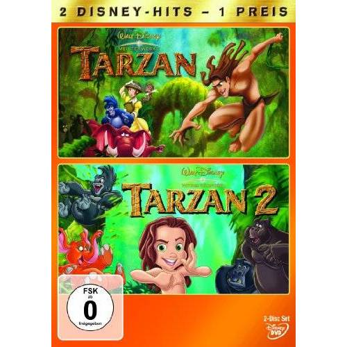 - Walt Disney Tarzan / Tarzan 2 [2 DVDs] - Preis vom 08.05.2021 04:52:27 h