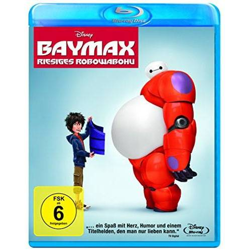 Don Hall - Baymax - Riesiges Robowabohu [Blu-ray] - Preis vom 20.10.2020 04:55:35 h