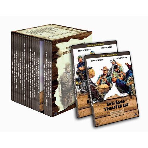 Terence Hill - Bud Spencer & Terence Hill - Monster-Box Reloaded [20 DVDs] - Preis vom 16.04.2021 04:54:32 h
