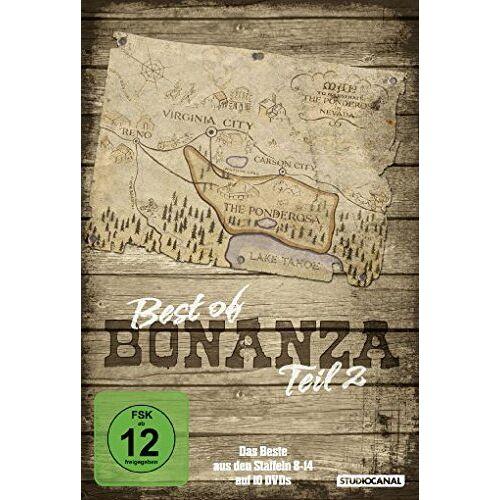 Lorne Greene - Bonanza - Best of Bonanza, Teil 2 [10 DVDs] - Preis vom 28.02.2021 06:03:40 h